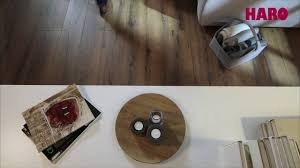 Laminate Floor Noise Haro Silent Ct U2013 The World U0027s Quietest Laminate Floor Youtube
