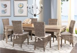 100 wicker dining room sets six vintage lloyd loom wicker