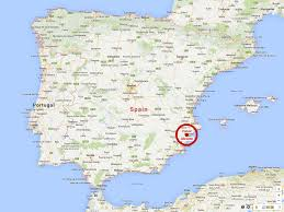 Granada Spain Map by Alicante Spain Map Imsa Kolese