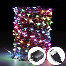 usb office fairy lights amazon com 2 pack fairy lights usb plug in 33ft 100 led warm
