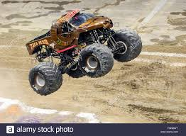 all monster jam trucks new orleans la usa 20th feb 2016 zombie hunter monster truck