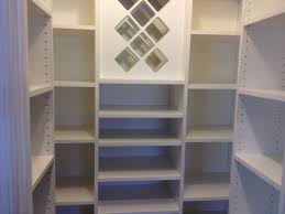 Kitchen Closet Shelving Ideas Kitchen Appealing Pantry Shelving With Custom Storage Systems And