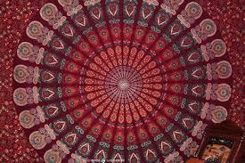superb maroon bedroom 6 boho tapestry wallpaper wallpapersafari