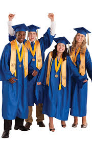 cap and gown mascot package includes cap and gown set