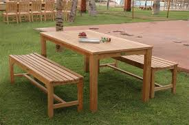 Broyhill Teak Bench Fantastic Teak Patio Dining Table Boundless Table Ideas