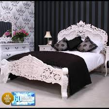 Cheap French Style Bedroom Furniture by White Rococo Bedroom Furniture Descargas Mundiales Com
