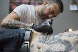 at the 10th london international tattoo convention by inkit tattoo