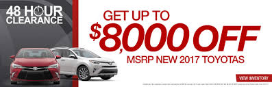 toyota deals now new u0026 used toyota car dealer serving orlando kissimmee u0026 winter