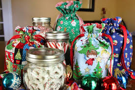 yesterfood mason jar gift bags tutorial