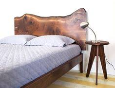 Live Edge Headboard by Bunk Beds For My Boys Live Edge Walnut Headboard At The