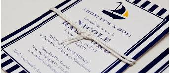 Wedding Invitations Nautical Theme - nautical themed baby shower invitations gourmet invitations