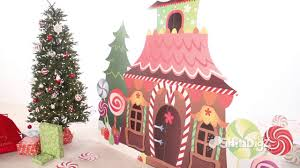 Gingerbread House Standee Party Supplies Shindigz Christmas