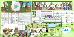 history anglo saxons and scots place names lsk2 lesson pack 2