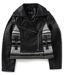 black and gold motorcycle jacket jessica simpson kids dillards com