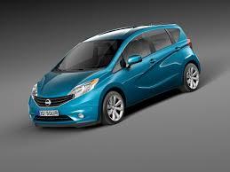 nissan versa note 2013 2014 car nissan 3d model