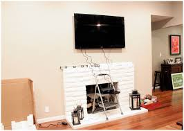 home decor tv over fireplace ideas design decor top on interior