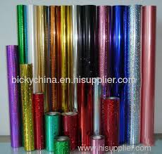 rolling shinning holographic metallc packing wrapping paper from