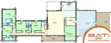 plan maison contemporaine plain pied 4 chambres plan maison moderne 4 chambres 14 de top plain pied systembase co