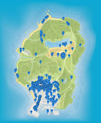 Gta 5 Map Map Of All 449 Interiors In Gta V Chiliadmystery