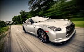 nissan fast car nissan gt r going very fast on the road 2560x1600 whqd 16 10