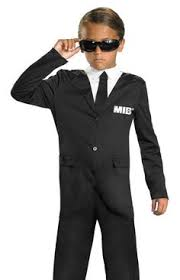 James Bond Costume Halloween Secret Service Agent Haunting Halloween Secret