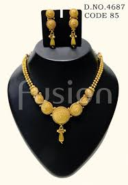 indian necklace set images Fusion traditional south indian necklace set rs 425 set id jpg