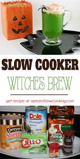slow cooker witch u0027s brew recipe punch recipes crockpot and recipes