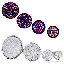 full spectrum hydroponic led grow lights bulbs e2718w 30w 50w 80w