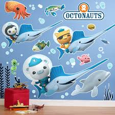 the halloween machine not just halloween costumes and accessories the octonauts giant wall decals