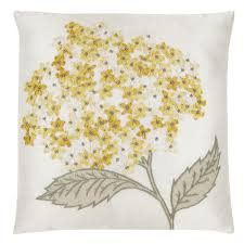 hydrangea embroidered cushion from laura ashley broderie 2