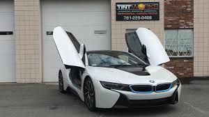 bmw commercial high tech bmw i8 tint with llumar ctx installed