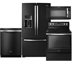 Black Kitchen Appliances by Kitchen Appliances Black Kitchen Appliance Bundle Of Freestanding