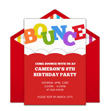 online invitations free bounce invitations bounce house birthday girl birthday and