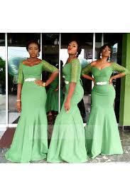 green bridesmaid dresses shop discount clover green mermaid the shoulder bridesmaid