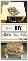 Make Storage Ottoman by Coffee Table Diy Storage Ottoman The Home Depot Coffee Table Ikea