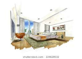 interior design sketch interior design sketch stock images royalty free images vectors