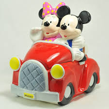 Houston Harvest Gift Products Houston Harvest Gift Products Cookie Jar Mickey U0026 Minnie Driving