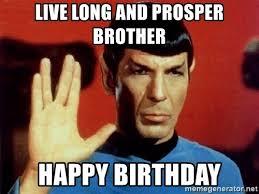 Star Trek Happy Birthday Meme - star trek happy birthday meme 28 images happy 50th treknobabble