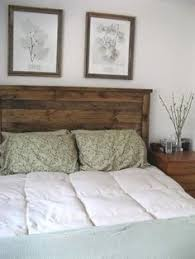 25 Easy Diy Bed Frame Projects To Upgrade Your Bedroom Homelovr by Rustic Headboard Reclaimed Headboard Head Board With Lights Built