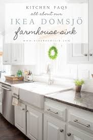 Ikea Sink Kitchen Ikea Farmhouse Sink Review Domsjo Hendrick Design Co