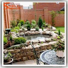 landscape design rockery waterfalls ornamental rock decor