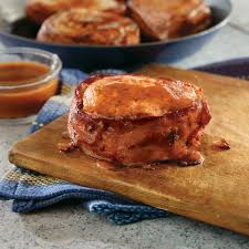 bacon bbq new york pork chops pork recipes pork be inspired