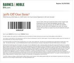 Barnes Noble Online Coupon Coupon Printable