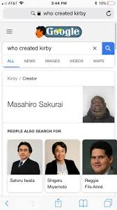 Who Created Memes - google did something wierd who created kirby know your meme
