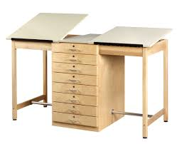 Hamilton Vr20 Drafting Table Furniture Mayline Drafting Tables Drafting Table With Drawers