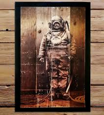rustic wood artwork reclaimed wood diver wall features reclaimed wood shipyard