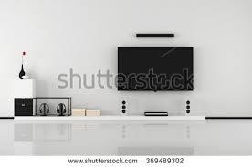 livingroom tv modern livingroom tv hifi equipment stock vector 407423428