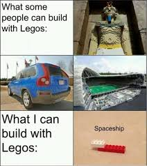 Building Memes - building with lego