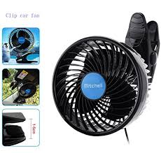 plug in car fan amazon com jhua 12v 6 inch car clip fan automobile vehicle