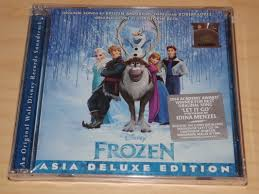soundtrack cds disney u0027s frozen dub collection